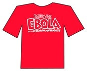 "Image of NEW! Bobby Joe Ebola ""Cartoon Logo"" T-Shirt"