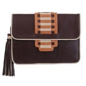 Image of Samba Clutch - Nudes Chocolate