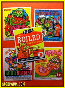Image of GLORP GUM MACHINE STICKERS!