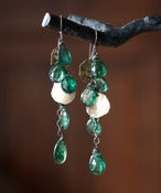 Image of Emerald Cascade Earrings