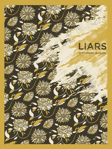 Image of Liars GigPoster
