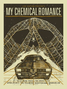 Image of My Chemical Romance Gigposter
