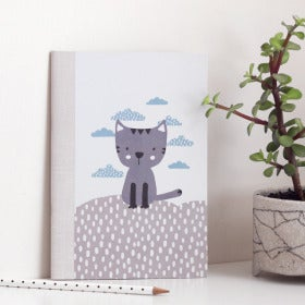 Image of Little Cat on the hill Notebook