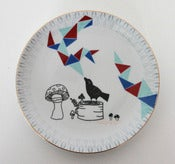 Image of Bird sings triangles - Platter