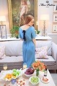Image of Summer Nights Dress (aqua blue)