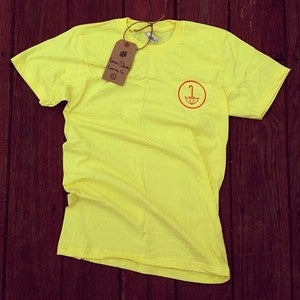 Image of Yellow Logo Tee