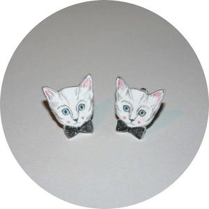 Image of Collar Adornments: Dapper Cat