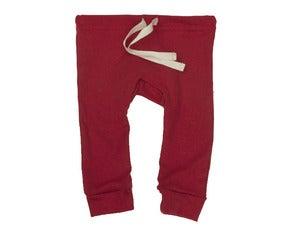Image of Organic Cotton Drawstring Leggings