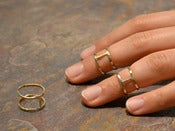 GOLD-FILLED memory ring