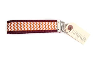 Image of College Wristlet Keychains