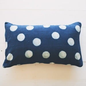 Image of Indigo Dot Pillow