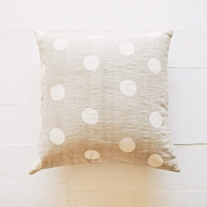 Image of Grey Dot Pillow