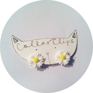 Image of Collar Adornments: Fresh as a Daisy Clips