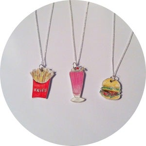 Image of Fast Food Necklaces
