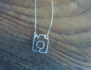 Image of Shoot Me Camera Necklace