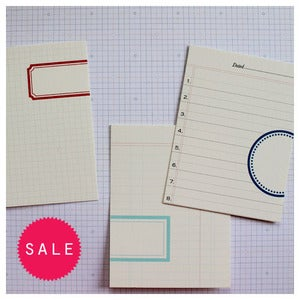 Image of Faux Label Journal Cards