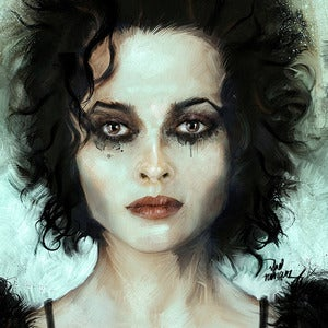 Image of Helena Bonham (Marla Singer)  The Fight Club