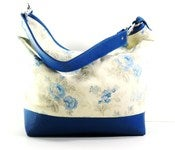 Bria Hobo in Spring Blue Cluster