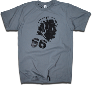 Image of Mario Lemieux &quot;66&quot; tee by Backpage Press