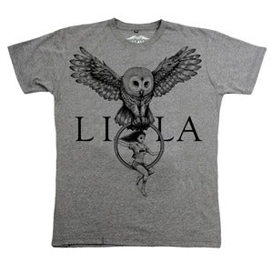Image of LiLa x Runaway T-shirt - available in Gray and White