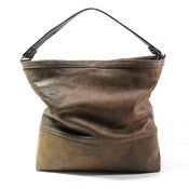 Distress Leather Hobo