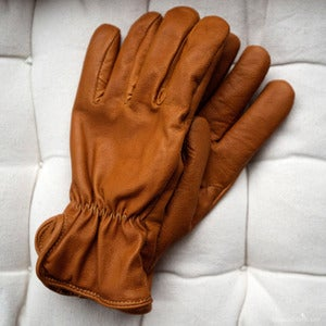Image of Geier Glove Co. for Wood and Metal - Merino Wool Lined Kangaroo Glove