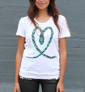 Image of Snake Love - Mint