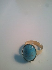 Image of Summer Sky turquoise ring
