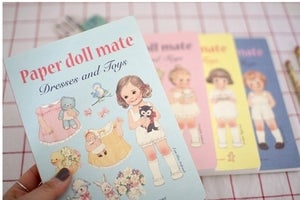 Image of Paper doll mate notebook