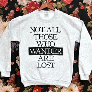 Image of 'Those Who Wander' Sweater