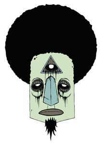 Image of Illuminafro Sticker
