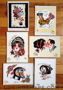 Image of SET OF 6 5x7 PRINTS