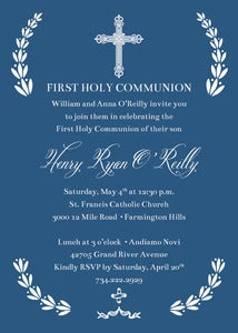 Image of First Holy Communion Invitation