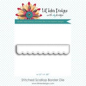 Image of Stitched Scallop Border Die