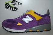 "Image of New Balance 580 Purple/Yellow ""LSU"""