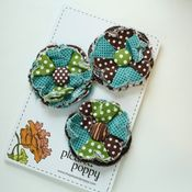 Image of set of 3 posy pins - 819