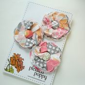 Image of set of 3 posy pins - 820