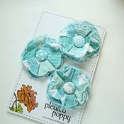 Image of set of 3 posy pins - 824