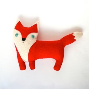 Image of Red Fox Plushy Friend 