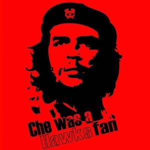 Image of Che was a Hawks fan