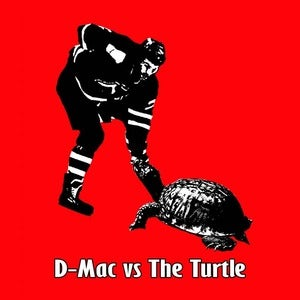Image of D Mac vs. The Turtle hockey shirt
