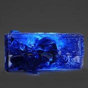 Image of Blue Lucite Light Up Purse