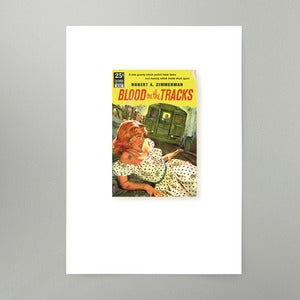 Image of Blood On The Tracks Art Print