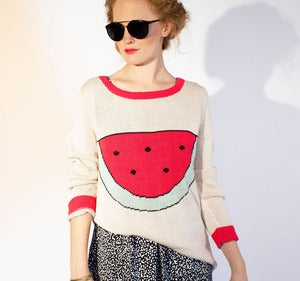 Image of Watermelon Sweater