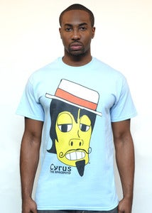 Image of Fm Cyrus the SpacePimp Tee (Mutant Blue)