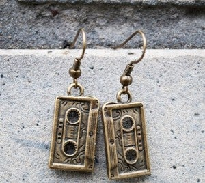 Image of 'Mixtape' earrings by Dead Envy