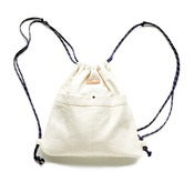 Image of CANVAS DRAWSTRING BACK PACK
