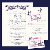 Image of Enchanted Forrest Invitation Wedding Suite