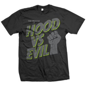 Image of Hood VS Evil T  Neon Lime