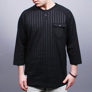 Image of Major Raglan Henley (Black)